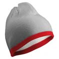 bonnet sport confortable gris_clair  bordeaux