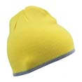 bonnet sport confortable jaune  gris_clair