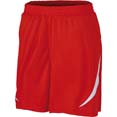 short personnalise sport home rouge