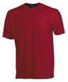 t shirt sport flocage rouge