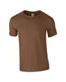 t shirt sport gildan eco marron