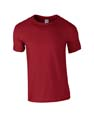 t shirt sport gildan eco rouge