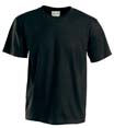 t shirt sport imprime noir_heather
