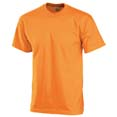 t shirt sport publicitaire enfant orange