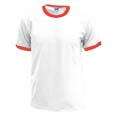 tee shirt sport imprime blanc  rouge
