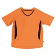 tee shirt sports marquage entreprise orange