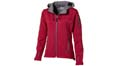 veste sports personnalises softshell rouge